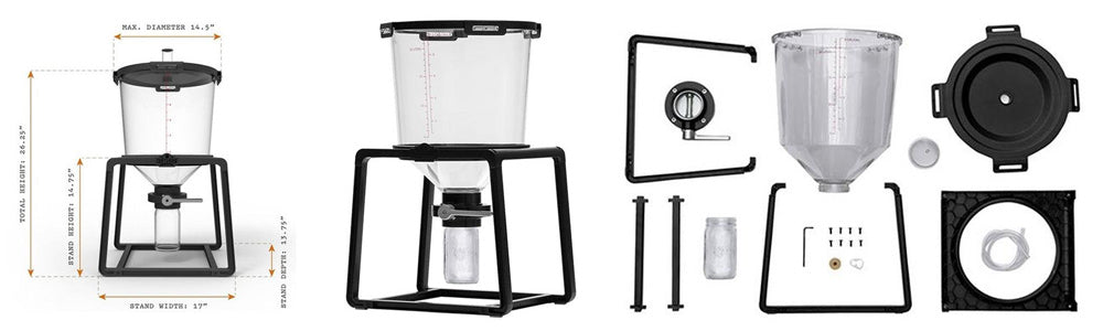 Just added!  CraftABrew Catalyst Fermentation System (6.5 Gallons)