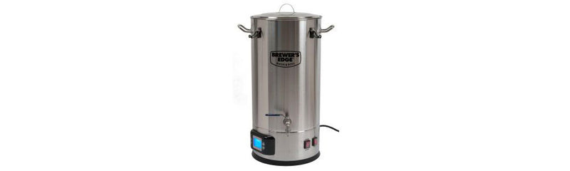 You'll want the Brewer's Edge Mash and Boil All Grain Brewing System!