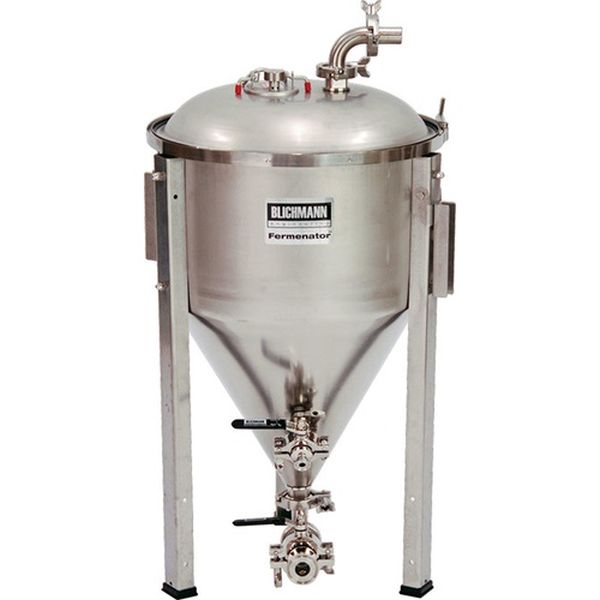 Blichmann 14.5 Gallon Fermenator Tri-Clamp Fittings - Conical Fermentor - aF3-14-TC