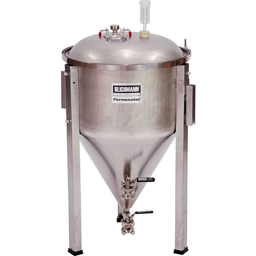 Blichmann 27 Gallon Fermenator NPT Standard Fittings - Conical Fermentor - aF3-27-NPT