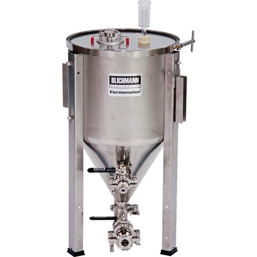 Blichmann 7 Gallon Fermenator Tri-Clamp Fittings - Conical Fermentor - aF3-7-TC