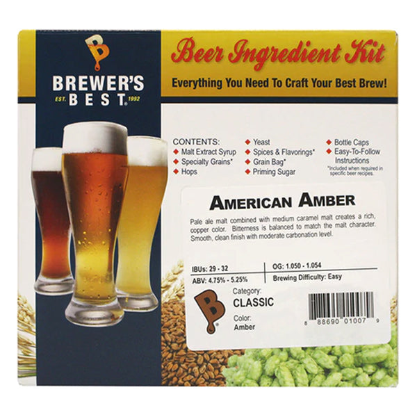 Brewer's Best American Amber Ale Beer Kit