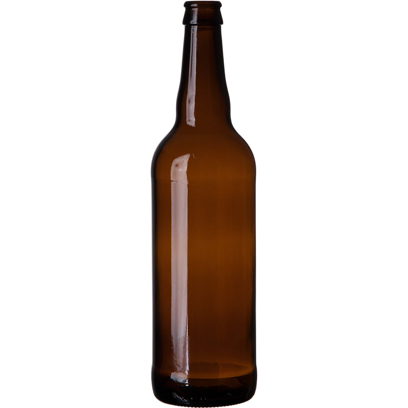 Bomber Beer Bottles - 22 oz, Amber - Case of 12