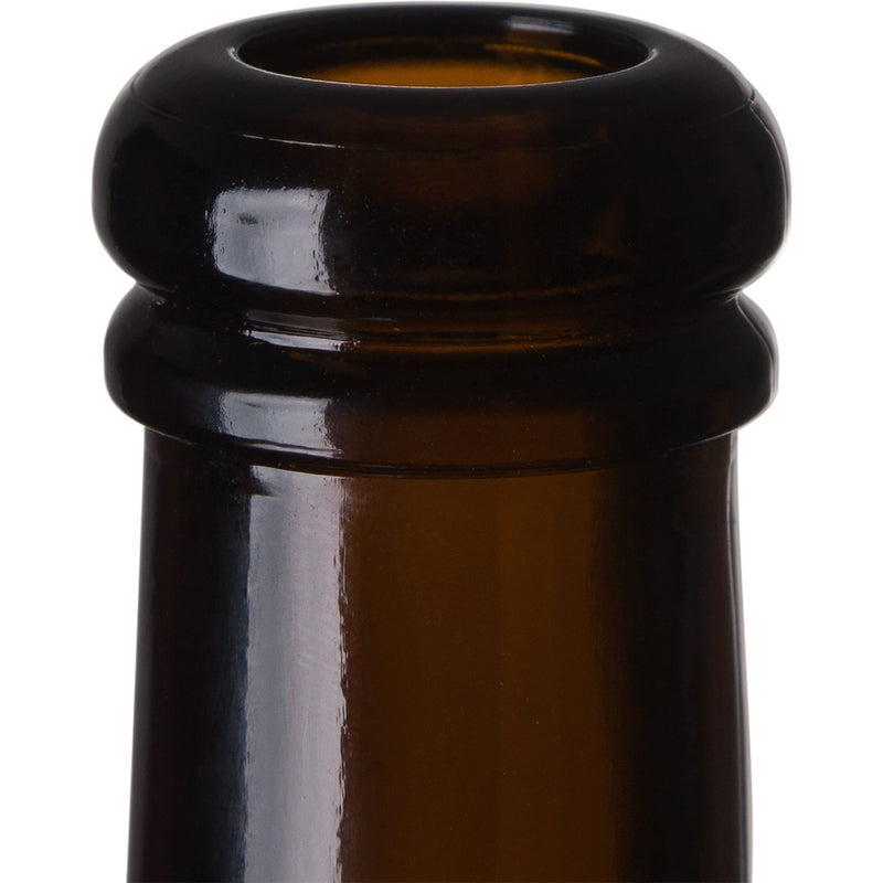 Belgian Beer Bottles - 750 ml, Amber - Case of 12