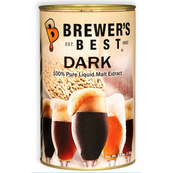 Brewer's Best Dark Liquid Malt Extract - 3.3lb