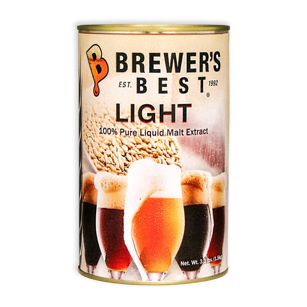 Brewer's Best Light Liquid Malt Extract - 3.3lb