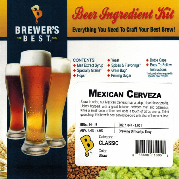 Brewer's Best Mexican Cerveza Beer Kit