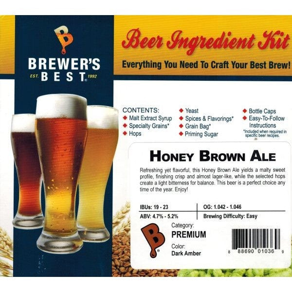 Honey Brown Ale Beer Ingredient Kit
