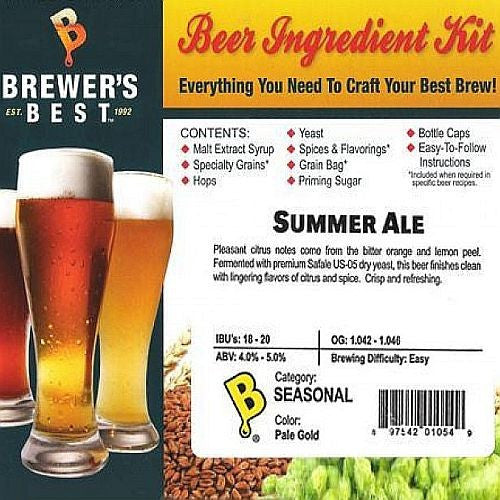 Brewer's Best Summer Ale Beer Kit