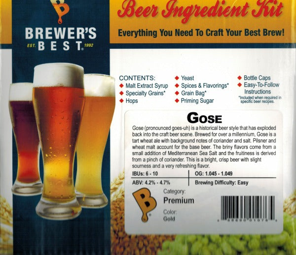 Brewer's Best Gose Beer Kit