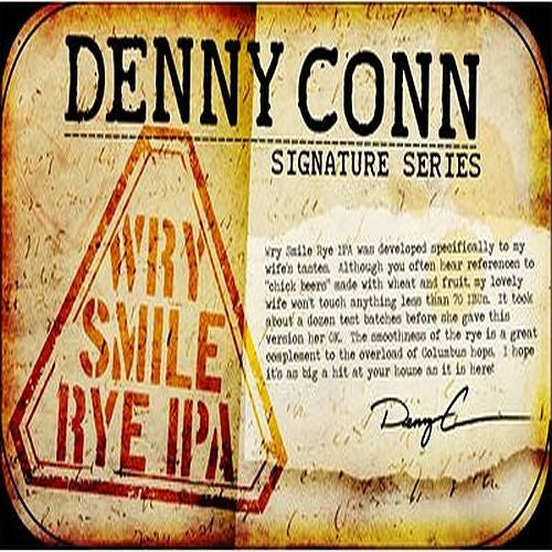 Denny Conn: Wry Smile Rye IPA Beer Ingredient Kit
