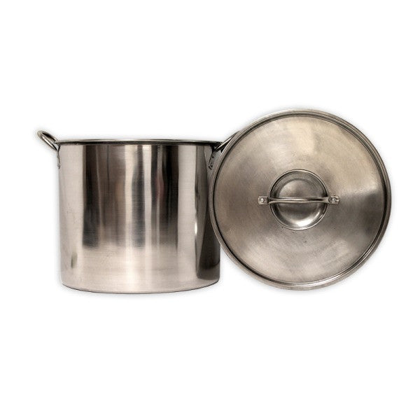 5 Gallon (20qt) Stainless Steel Brew Kettle w/ Lid