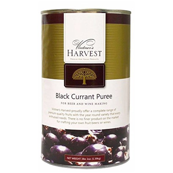 Black Currant Puree - Vintners Harvest (3.1 lbs)