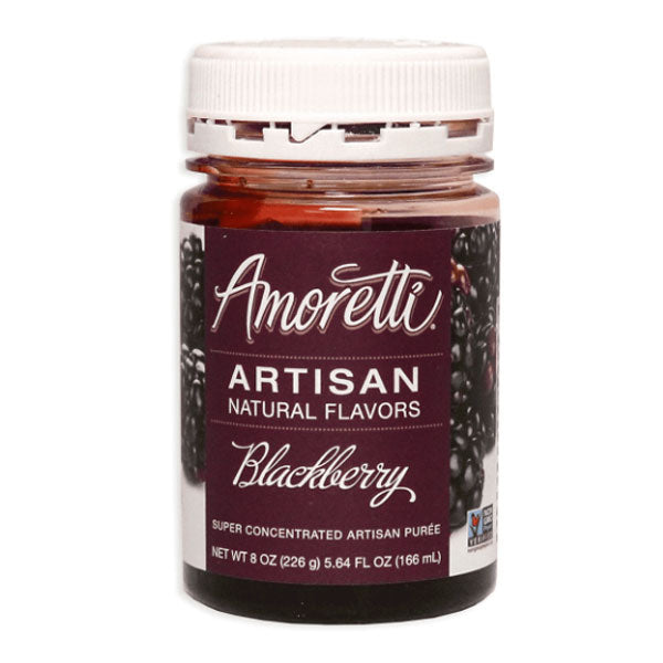 Amoretti Artisan Natural Flavor - Blackberry, 8 oz
