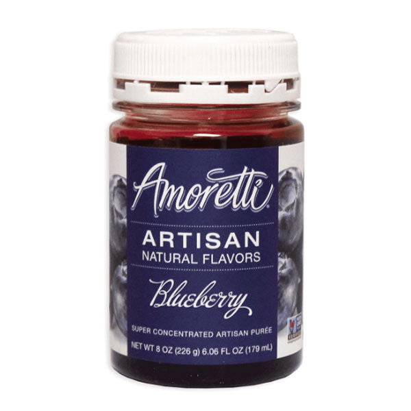 Amoretti Artisan Natural Flavor - Blueberry, 8 oz