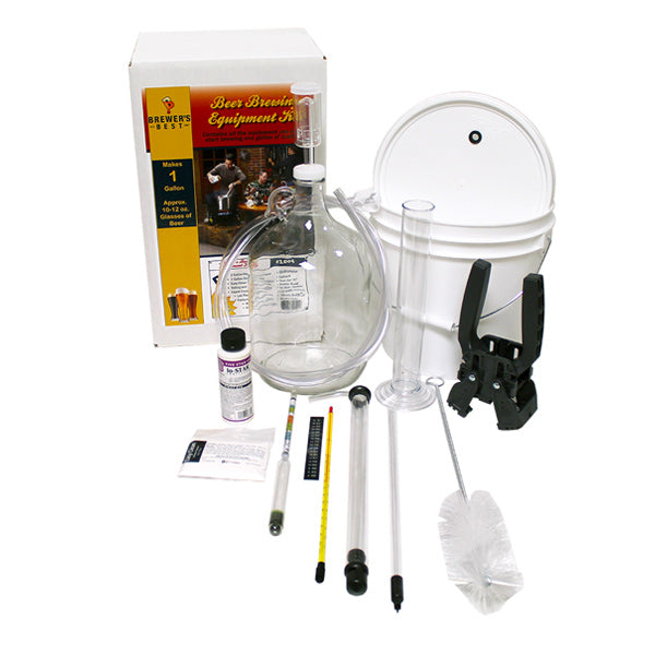 Beer Brewing Equipment Kit - 1 Gallon Smalll Batch