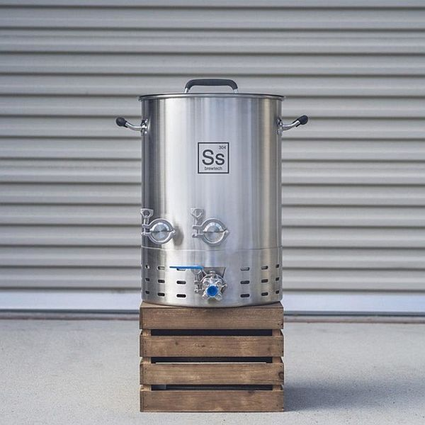 Ss BrewTech 10 Gallon Brew Kettle - Brewmaster Edition