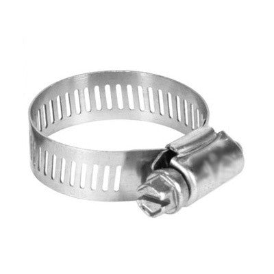 "Stainless Steel Mini Hose Clamp (#4) - 7/32"" - 5/8"""