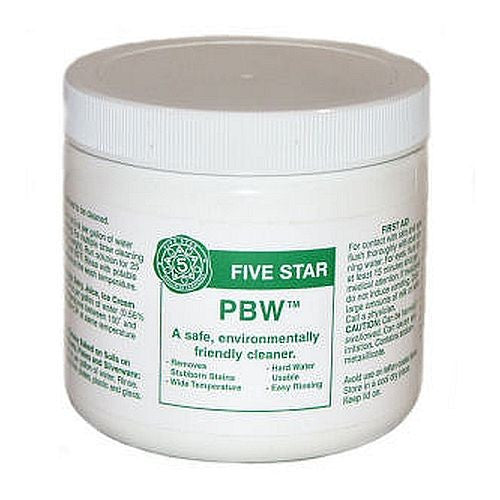 Powdered Brewery Wash (PBW) - 1 lb