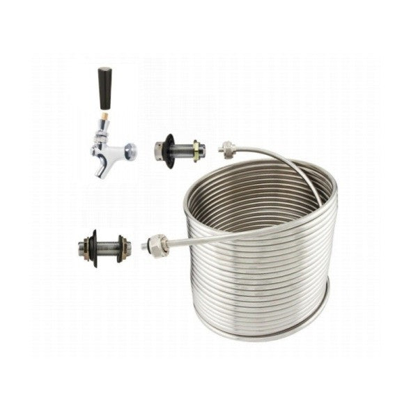 "Jockey Box 1 Tap Coil Kit - 3/8"" x 50'"