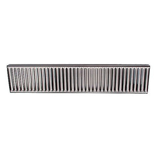 "Stainless Steel Drip Tray - Surface Mount 19"" x 4"""