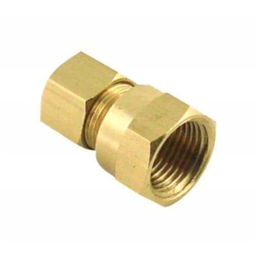 "1/2"" Compression to 1/2"" Female NPT - Brass"