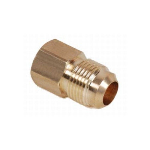 "3/8"" Flare to 1/2"" Female NPT Adapter - Brass"