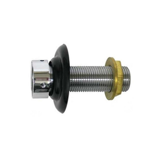"Stainless Faucet Shank Assembly - 1/4"" Bore, 3-1/8"" Length"