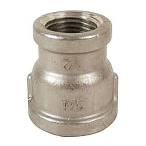"Reducer Coupling Stainless - 3/4"" - 1/2"" NPT (Fits Center Inlet Chugger Pump)"