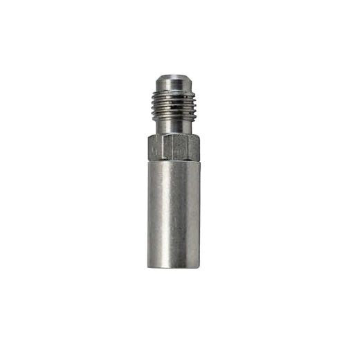 "Diffusion / Aeration/ Carbonating Stone 1/4"" Flare Thread - .5 Micron Stainless"