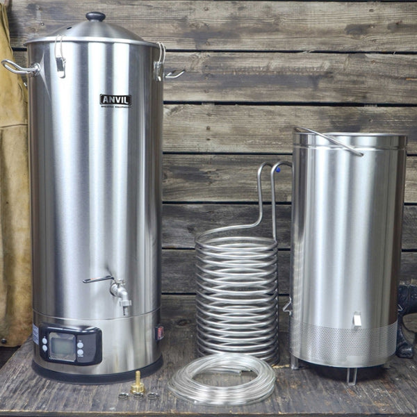 Anvil Foundry All-Grain Brewing System with Recirculation Kit - 10.5 Gallon