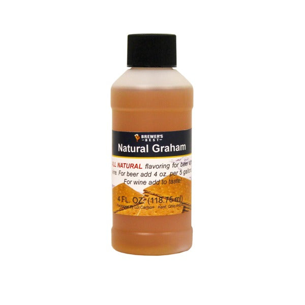 Natural Graham Flavoring For Beer and Wine