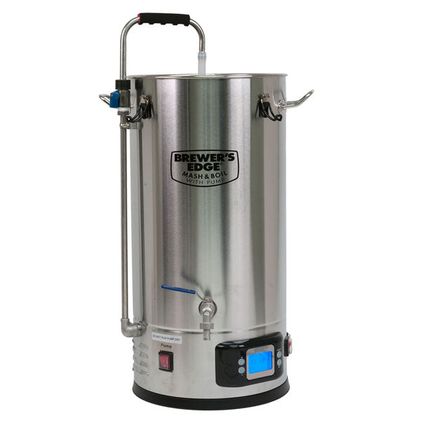 Brewer's Edge Mash & Boil with Pump All Grain Brewing System