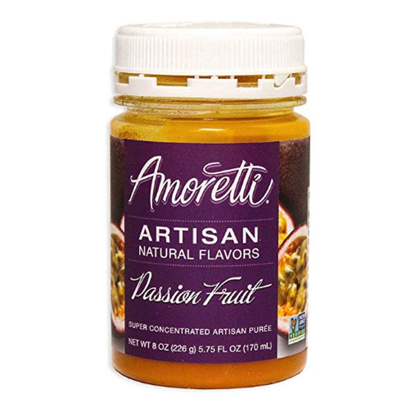 Amoretti Artisan Natural Flavor - Passionfruit, 8 oz