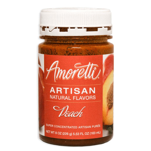 Amoretti Peach Artisan Fruit Puree - 8 oz