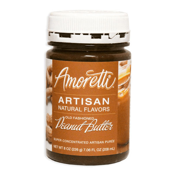 Amoretti Artisan Natural Flavor - Old Fashioned Peanut Butter, 8 oz