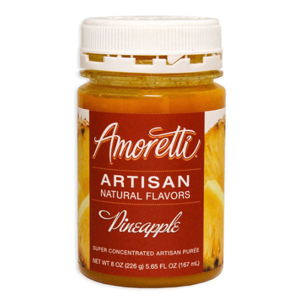 Amoretti Artisan Natural Flavor - Pineapple, 8 oz
