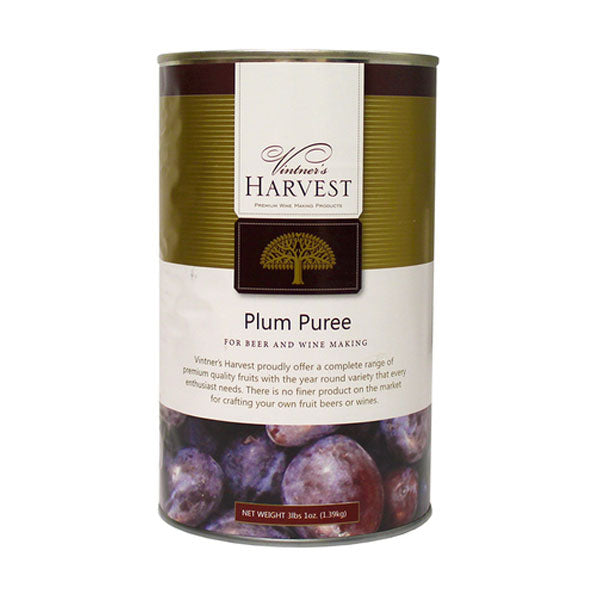Vintner's Harvest Fruit Puree - Plum, 49 oz