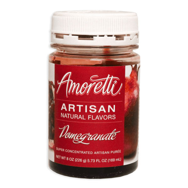 Amoretti Artisan Natural Flavor - Pomegranate, 8 oz