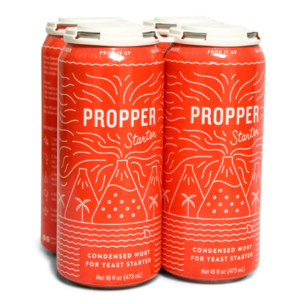 Propper Starter Concentrated Wort, 16 oz Can - 4 Pack