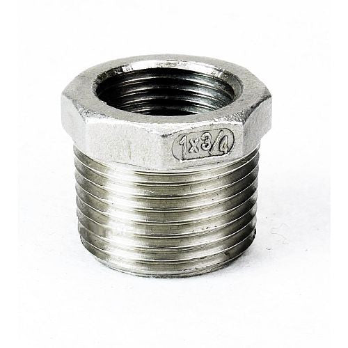 "Reducer Bushing 1""-3/4"" (for use with inlet side of Chugger MAX pump)"