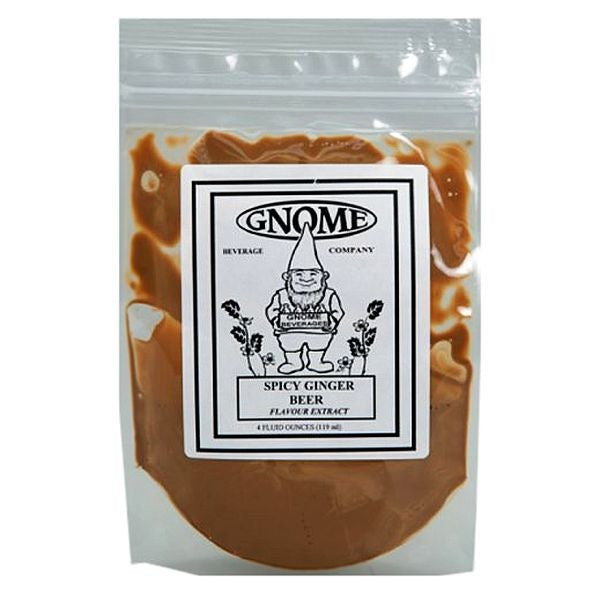 Gnome Spicy Ginger Beer Soda Flavor Extract - 4 oz