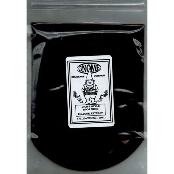 Gnome Draft Style Root Beer Soda Flavor Extract - 4 oz