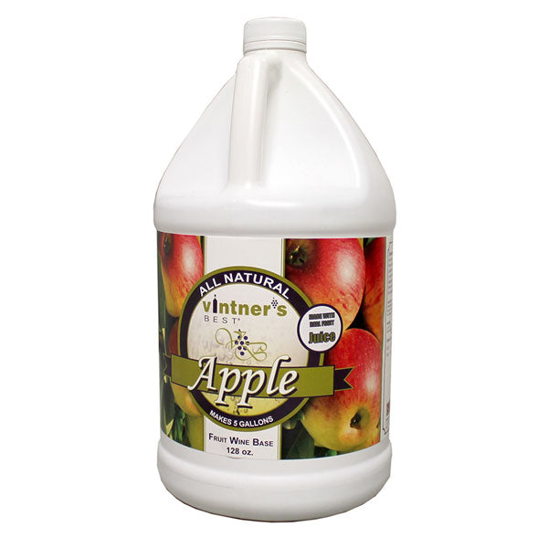 Vintner's Best Apple Fruit Wine Base - 128 oz
