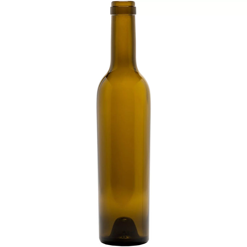 Bordeaux Wine Bottles - 375 ml, Antique Green - Case of 12