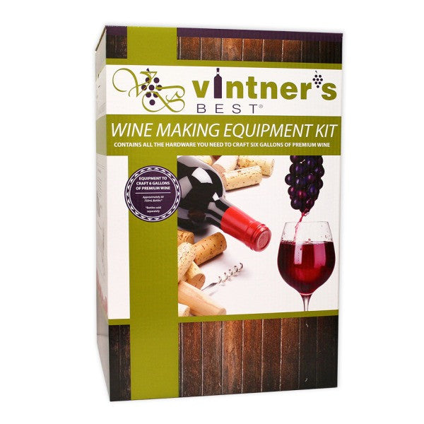 Deluxe Wine Making Equipment Kit
