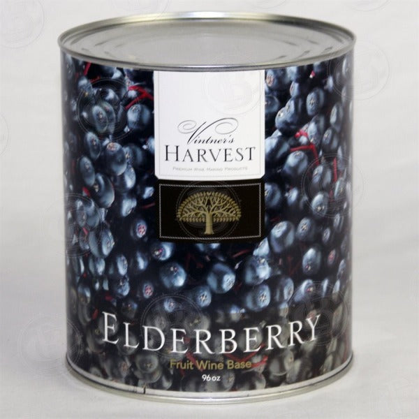 Elderberry - Vintners Harvest Fruit Wine Base (6 lbs)