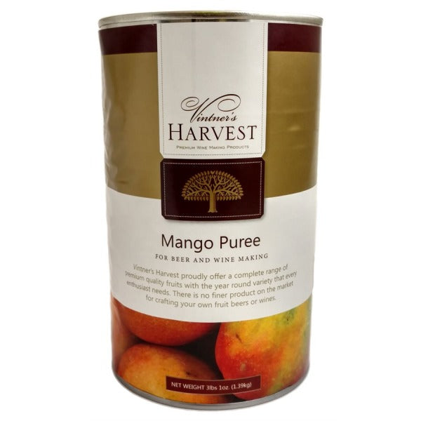 Vintner's Harvest Fruit Puree - Mango - 49 oz