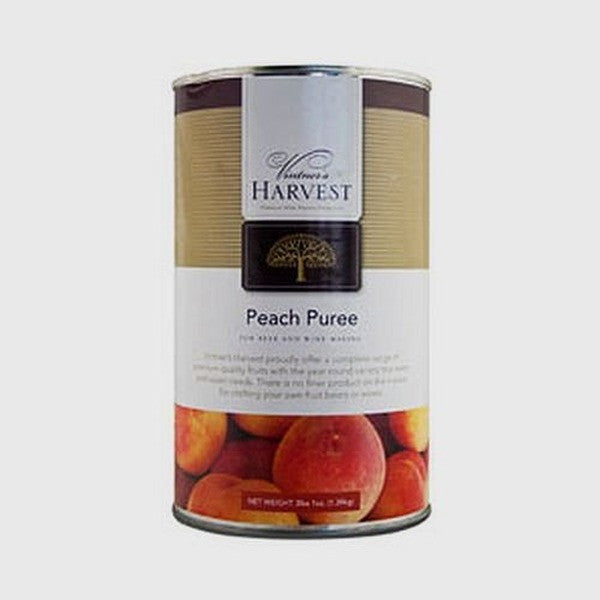 Vintner's Harvest Fruit Puree - Peach, 49 oz