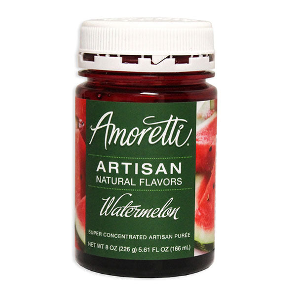 Amoretti Artisan Natural Flavor - Watermelon, 8 oz